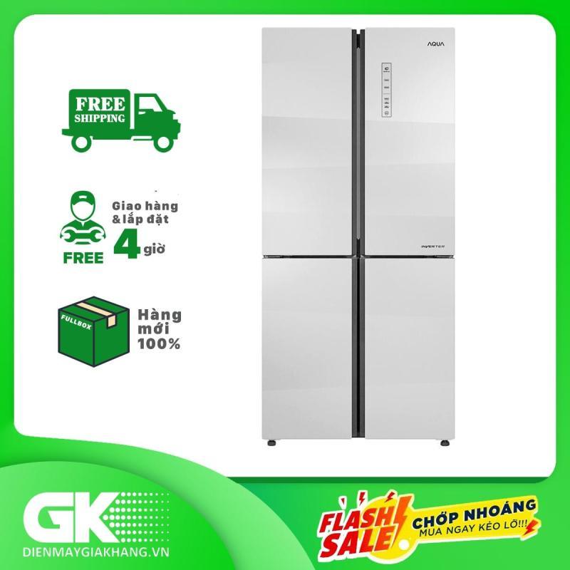 Tủ Lạnh Inverter Aqua AQR-IG525AM (GS) 456L