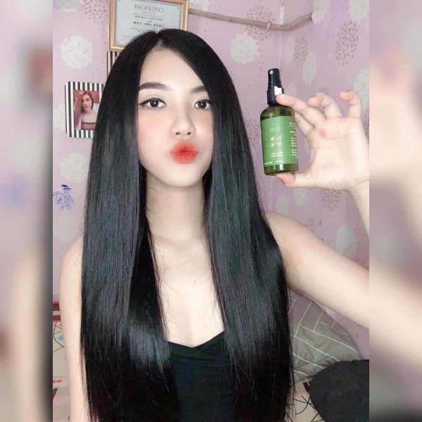 [Tặng ví xinh] Tinh Dầu Bưởi Vijully kích moc tóc nhanh, loại bỏ hói đầu, rụng tóc giúp tóc mọc nhanh dài mềm mượt