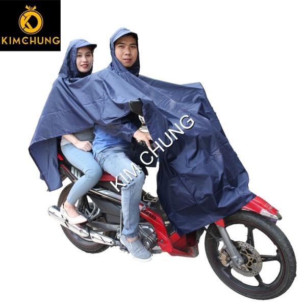 Áo mưa hai đầu đi xe máy vải dù cao cấp, siêu bền, không thấm nước