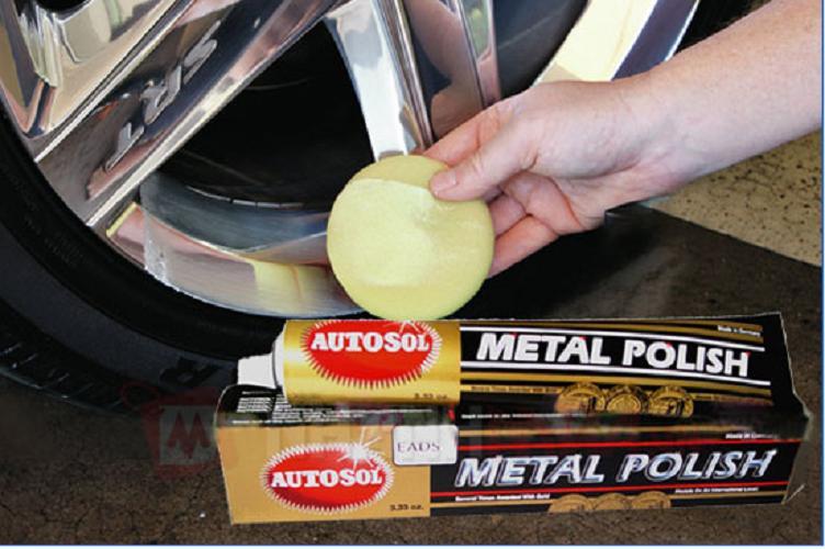 Kem Đánh Bóng Kim Loại Inox Đồng Autosol Metal Polish Không Độc Hại, Không Dễ Cháy, Thân Thiện Với Môi Trường