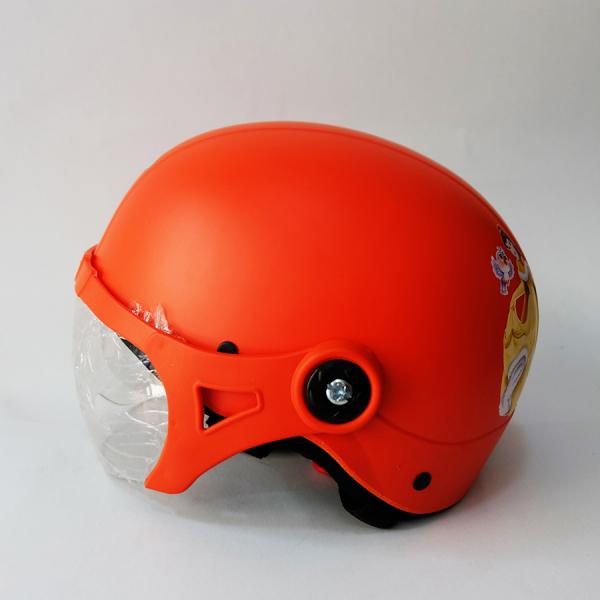 Giá bán Mũ bảo hiểm trẻ em kiểu nón sơn có kính như hình (4t-8t)