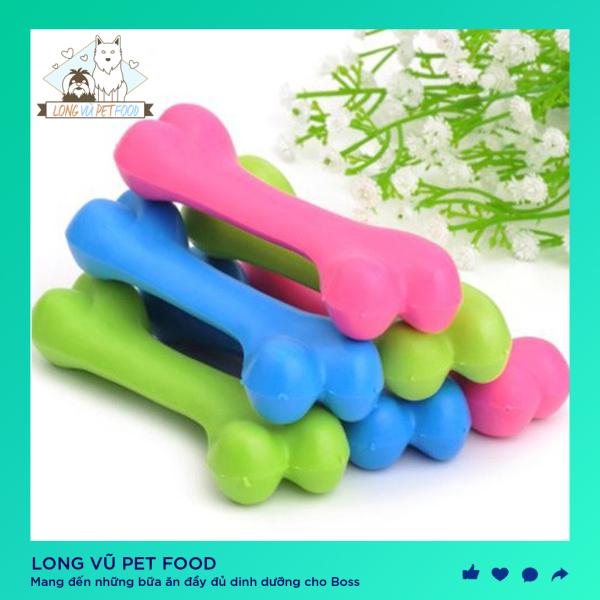 Đồ chơi cho chó Cục xương gặm sạch răng chống cắn cho chó, đồ chơi cho chó, đồ chơi cho mèo, đồ thú cưng - Long Vũ Pet Food