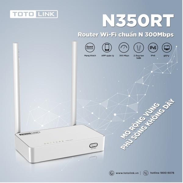 Bảng giá Bộ Phát Wifi Xuyên Tường Totolink 4 Râu N600R Chuẩn N600Mb, Router Wifi 2 Râu N350RT 300Mb, Bộ phát Totolink 5 Râu A810R Phong Vũ