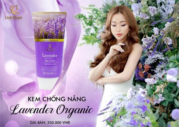 Kem chống nắng Lavender Organic- Linh Nham nhập khẩu