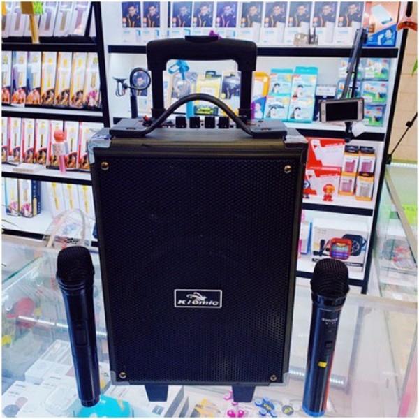 Mua Loa Kéo Karaoke Bluetooth Kiomic Q8 Pro Tặng Micro Không Dây Hát Siêu Hay Mẫu Mới 2020.bluetooth.karaoke.nghe nhạc.kẹo kéo.mini.bass mạnh.giá rẻ.công suất lớn.led 7 màu.gia đình.cỡ lớn
