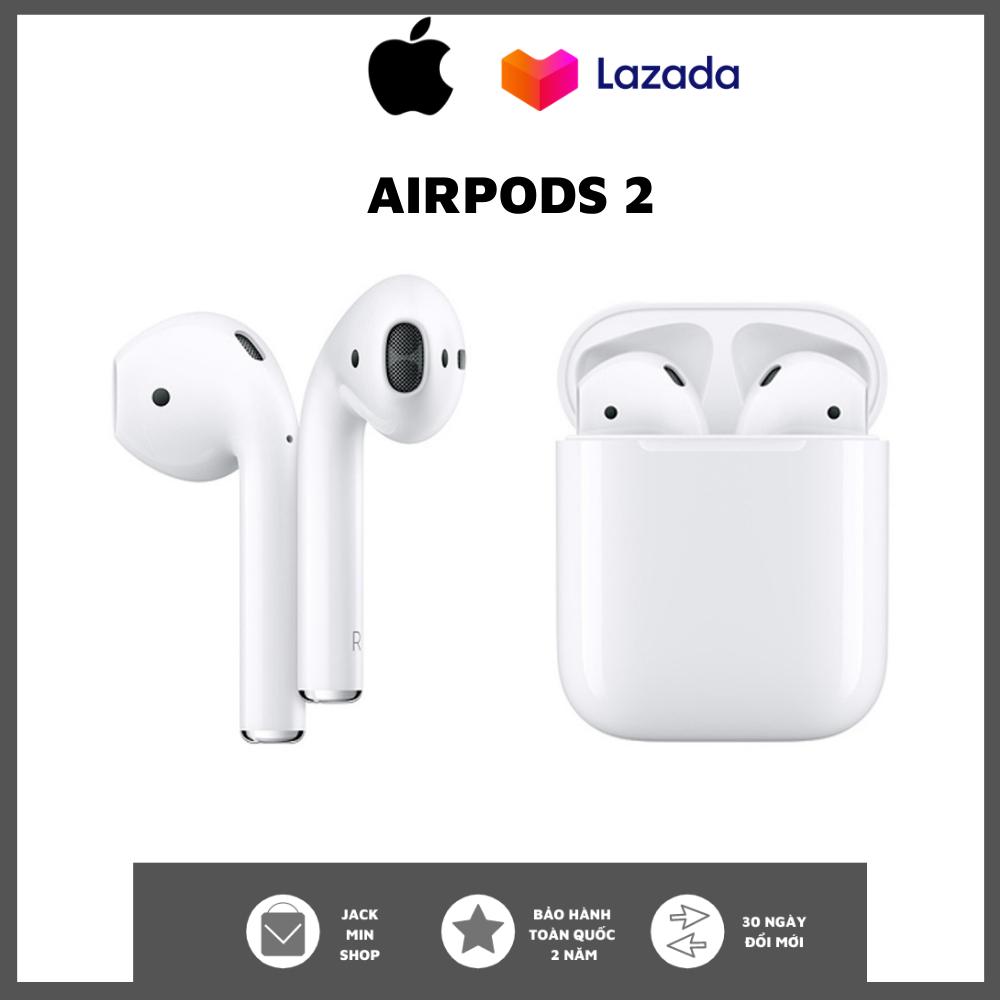 Tai nghe bluetooth airpods 2 likeauth - tai nghe iphone true wireless  airpods - tai nghe không dây nhét tai - thiết kế thời trang, năng động - sử  dụng cảm ứng