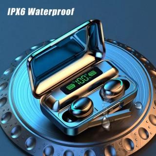 Tai nghe bluetooth BTH F9 5 tai nghe không dây Bluetooth 5.0 Pro, âm thanh 9D, chống nước, chống ồn Tai nghe bluetooth pin 3500 mAh kiêm sạc dự phòng cho điện thoại 4