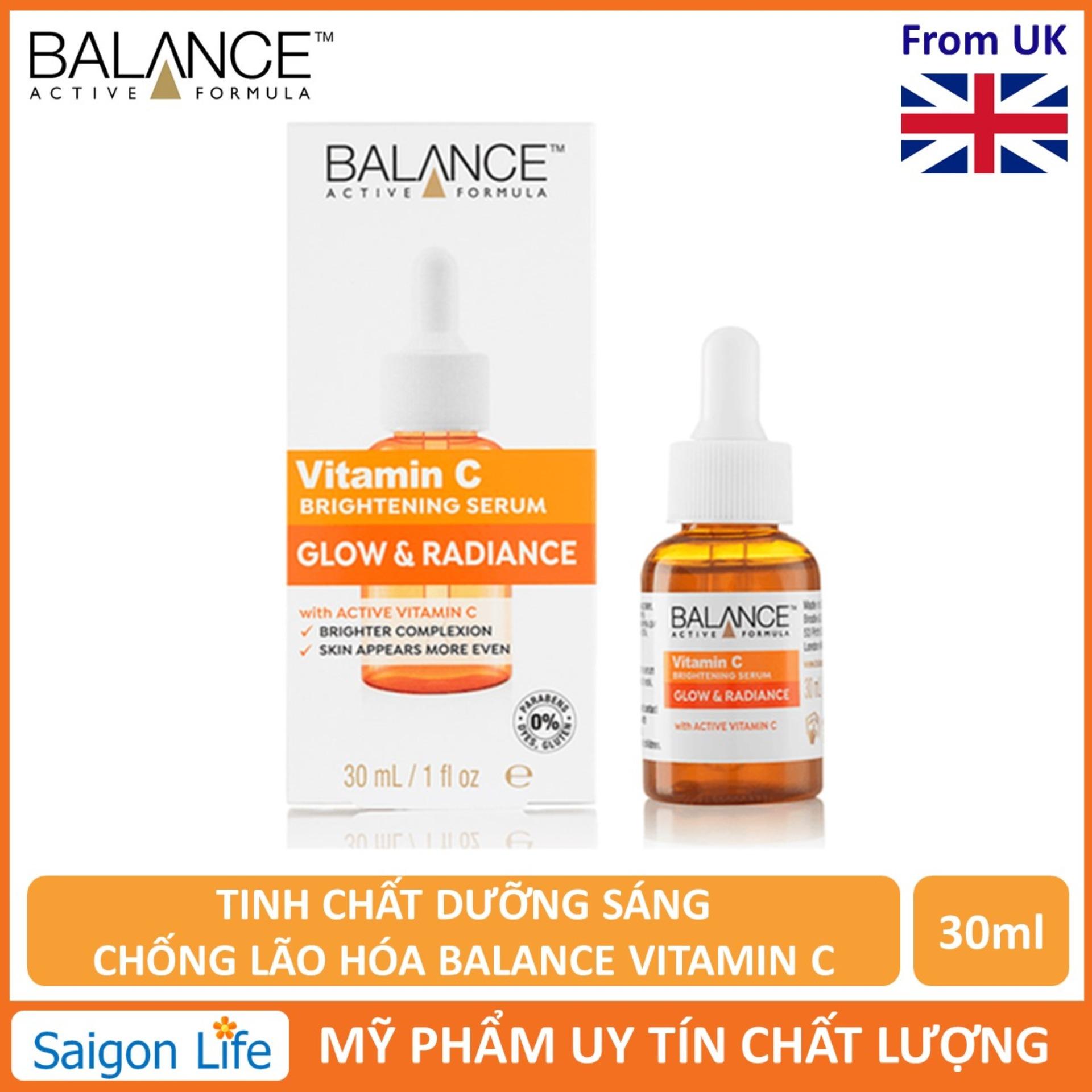 Tinh Chất Dưỡng Sáng, Chống Lão Hóa Balance Active Formula Vitamin C Brightening Serum - 30ml nhập khẩu