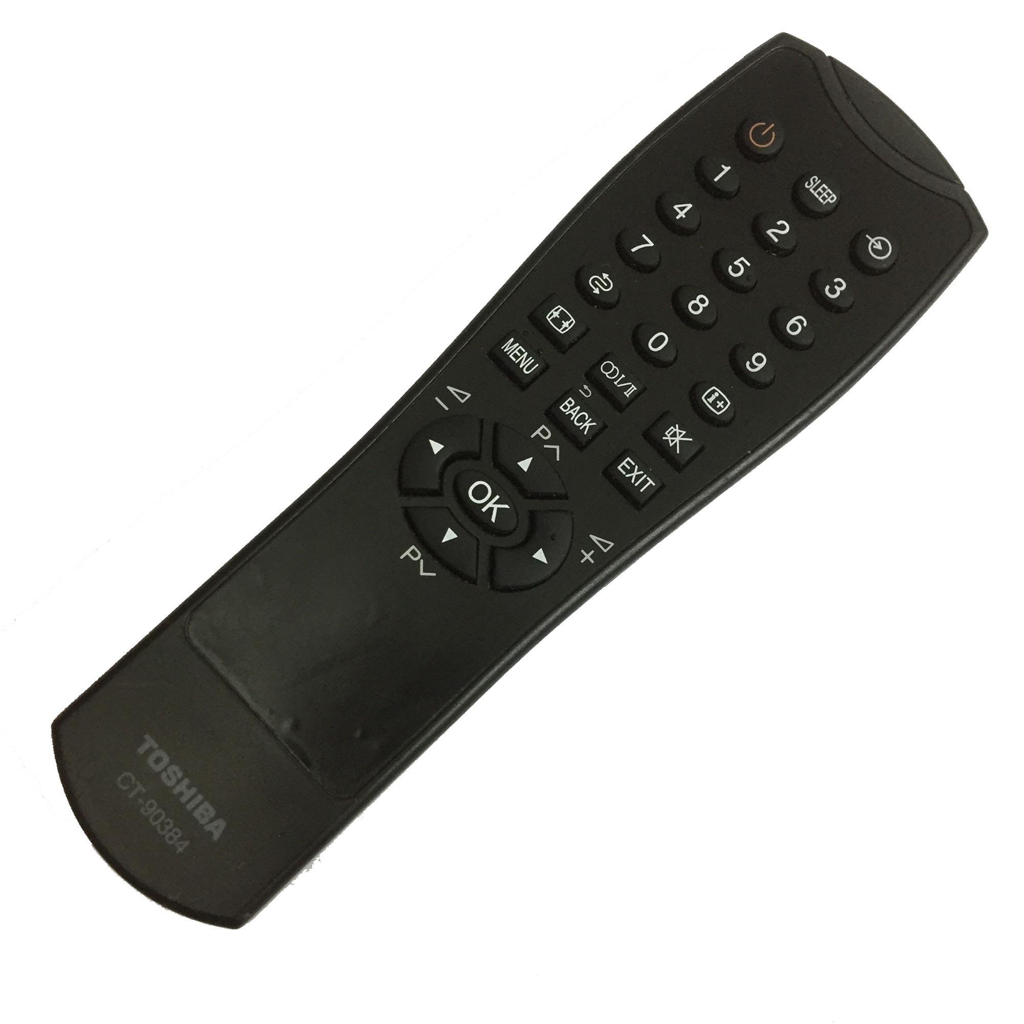 Bảng giá Điều khiển tivi TOSHIBA LCD CT-90384  (đen)