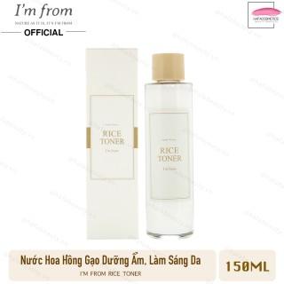 Nước hoa hồng cấp ẩm, dưỡng sáng da chiết xuất gạo I m from Rice Toner 150ml thumbnail