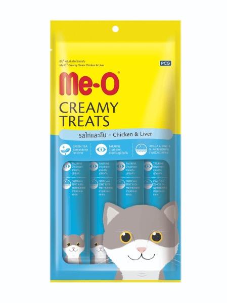 Me-O Creamy Treats - Bánh thưởng dạng kem cho mèo Me-O - 60gram