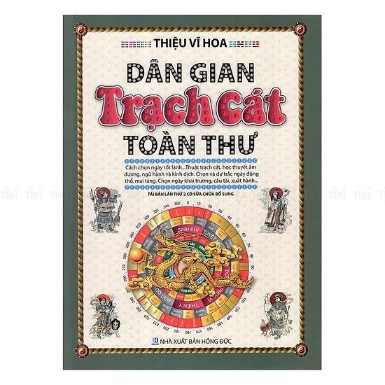 Mua Sách - (In Màu) Dân Gian Trạch Cát Toàn Thư