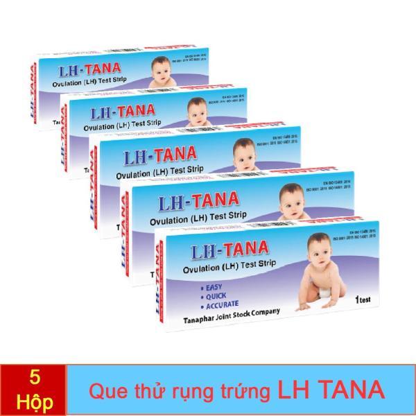 Combo 5 Bút Que Thử rụng trứng LH TANA giá rẻ -Test nhanh phát theo dõi chu kỳ rụng trứng, hiệu quả, chính xác