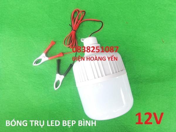 Bảng giá [HCM]Bóng đèn 12v kẹp bình 30w bóng đèn LED dùng bình ắc quy 12v 30w
