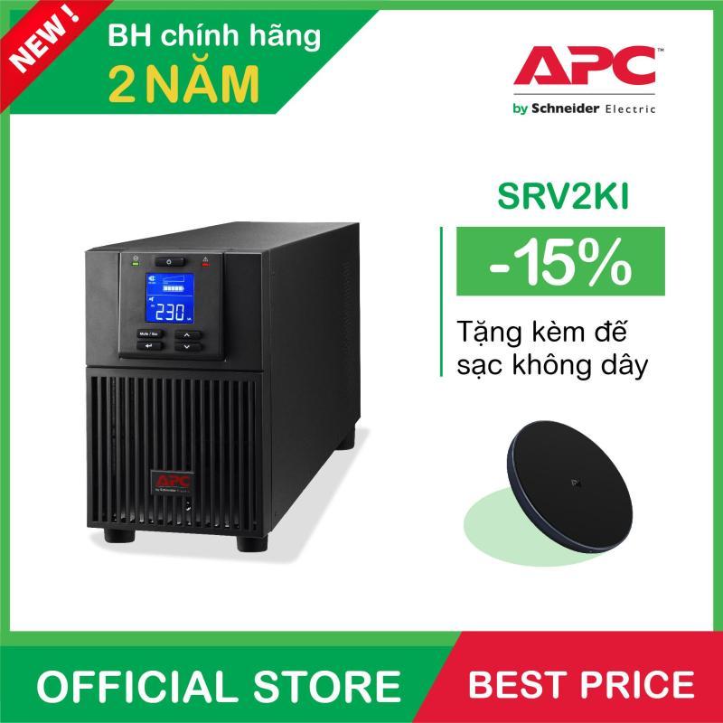 Bảng giá Bộ lưu điện APC: Easy UPS SRV 2000VA 230V - SRV2KI Phong Vũ