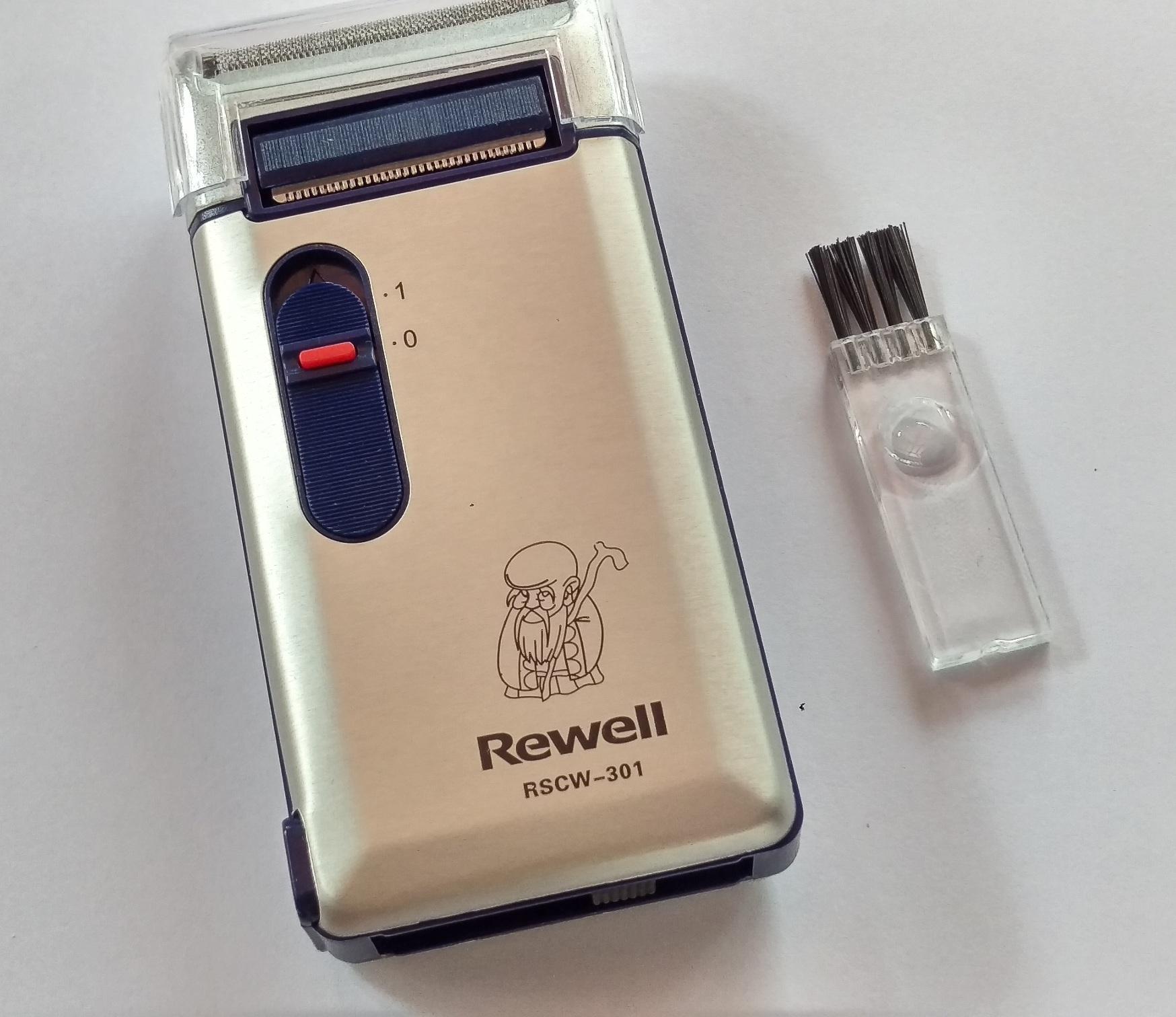 MÁY CẠO RÂU REWELL  RS-W301U (màu bạc) tốt nhất