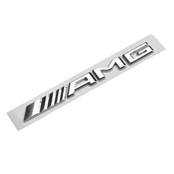 Decal logo 3D chữ nổi AMG dán xe đuôi ô tô