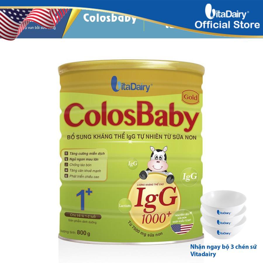 Sữa non COLOSBABY GOLD 1+ 800G