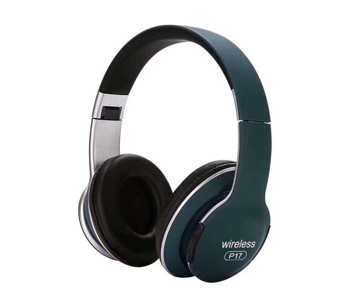 Tai Nghe Bluetooth, Tai Nghe Chụp Tai Có Mic JBL Wireless P17 Nghe Nhạc Cực Hay, Bass Trầm, Âm Thanh Vòm 360 Bảo Hành 12 Tháng
