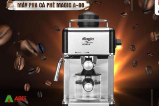 Máy Pha Cafe Magic Korea A98 Đa Năng Bảo Hành 12 Tháng Chính Hãng thumbnail