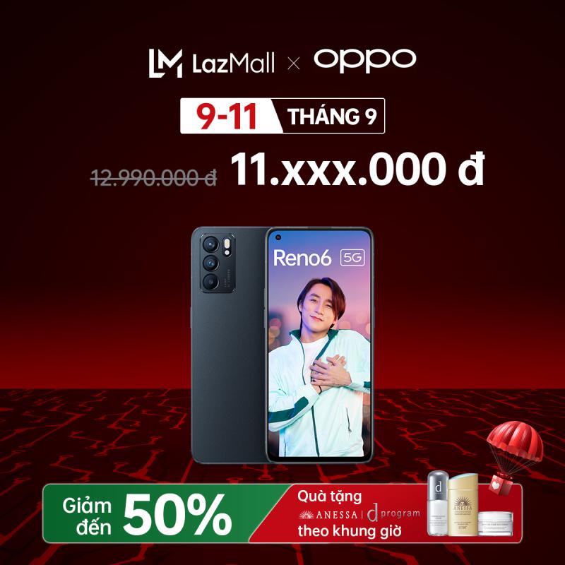 Điện thoại Oppo Reno 6 - Hàng chính hãng - Trả góp 0%