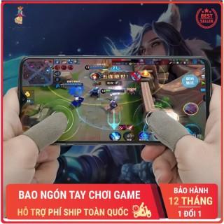 Bao ngón tay chơi game điện thoại bọc ngón tay cảm ứng thoáng khí chống mồ hôi không trầy xước giá rẻ màu ngẫu nhiên Phặn Phặn thumbnail