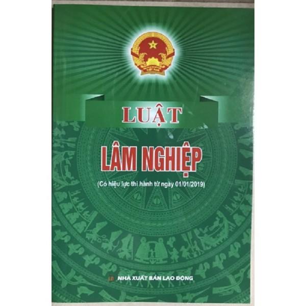 Luật Lâm Nghiệp Năm 2017 (Nhà Sách Pháp Luật)