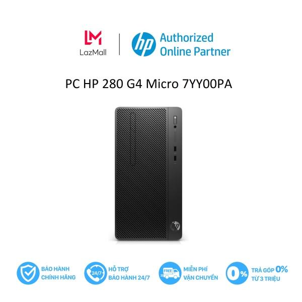 Máy tính để bàn HP 280 G4 Micro/i3-9100-3.6G/4G/256G SSD/DVDRW/7YY00PA