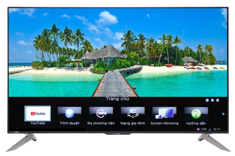 Bảng giá Smart Tivi Sharp 4K 60 inch LC-60UA6500X