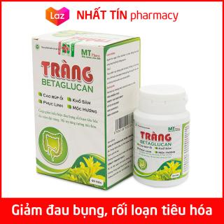 Viên uống Tràng Betaglucan giảm đau viêm đại tràng, giảm co thắt đại tràng, rối loạn tiêu hóa - Hộp 60 viên thumbnail
