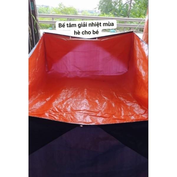 bể bạt nuôi cá, lươn, ếch, ... làm bể tắm cho trẻ con. kích thước 2x3x1m và 2x4x1m ( sale xả hàng )