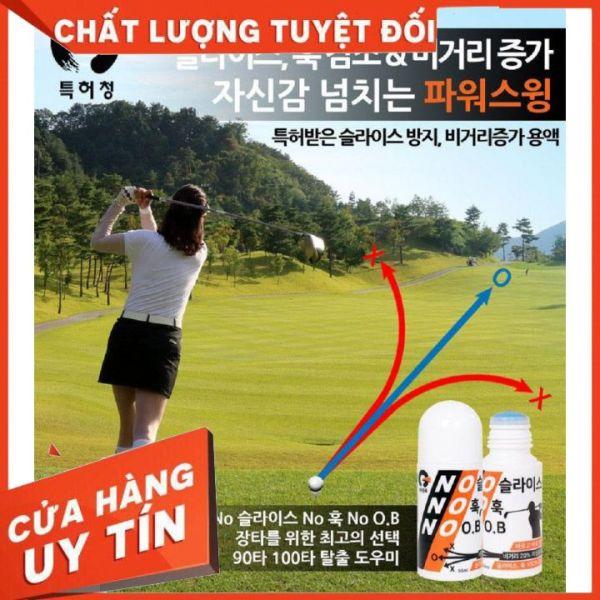 Lọ Bôi Mặt Gậy Golf NoNoNo Hỗ Trợ Kỹ Thuật Đánh Golf Giúp Bóng Golf Đi Xa Và Thẳng Chống Sile OB Hook