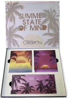 Set trang điểm 2 hộp phấn mắt 2x9 màu,1 phấn bắt sáng 1x3 màu Summer Stated of Mind của Beauty Creations thumbnail