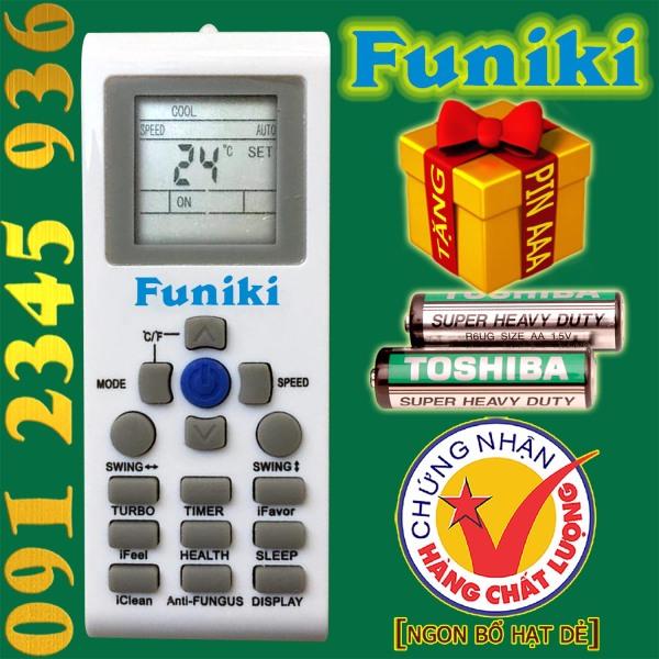 Điều khiển Funiki [HÀNG ĐẸP] cho điều hòa. (Mẫu số 5)