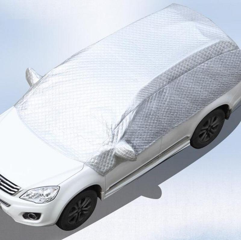 Bạt che chống nắng, cách nhiệt bảo vệ xe hơi 5D tráng bạc, SIZE S XE 5 CHỖ, SIZE L XE 7 CHỖ
