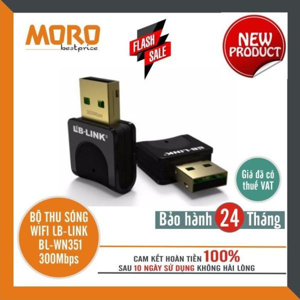 Bảng giá Bộ thu sóng Wifi LB-Link BL-WN351 300Mbps - Chính hãng bảo hành 2 năm Phong Vũ