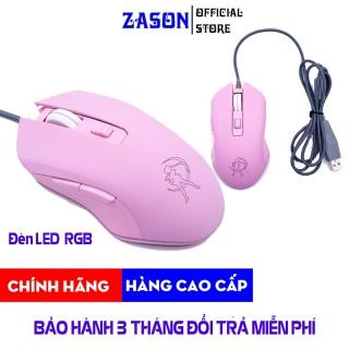 Chuột Quang Gaming HM09 Pink LED RGB Siêu Êm Siêu Bền - Chuột Quang Gaming HM09 Pink LED RGB Siêu Êm Siêu Bền 7 Chế Độ Led, Chuột Quang Gaming HM09 Pink LED RGB Siêu Êm Siêu Bền Siêu Nhẹ Siêu Phẩm Chơi Game Dành Cho Phái Nữ - Zason thumbnail