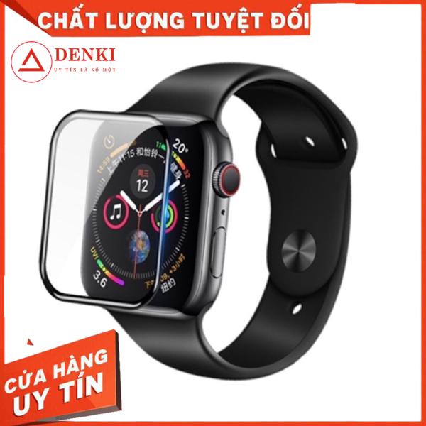 Kính cường lực 3D, miếng dán bảo vệ màn hình đồng hồ thông minh Apple iWatch 38mm 42mm 40mm 44mm