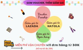 HATOLA - Khuôn kẻ lông mày Hàn Quốc SET 3 khuôn tiện lợi giúp nàng xinh đẹp KKM 6
