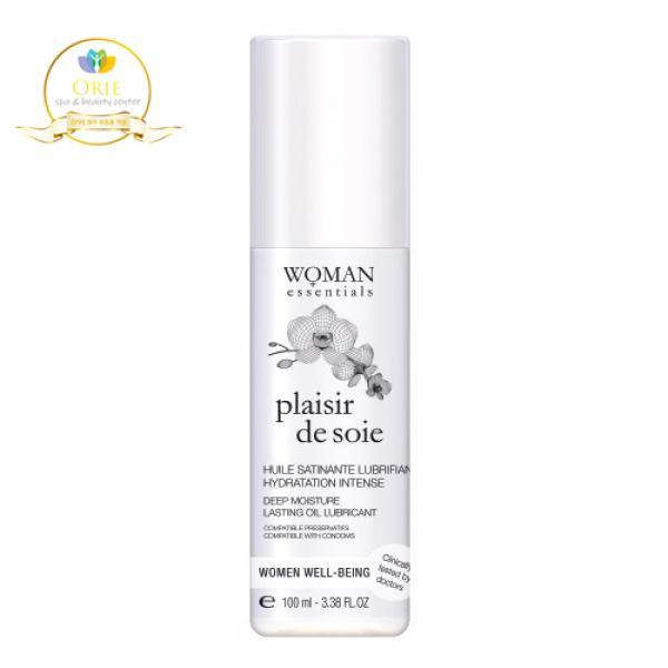 Dầu dưỡng ẩm vùng kín bị khô do mãn kinh - Plaisir De Soie (100ml - Woman Essentials)