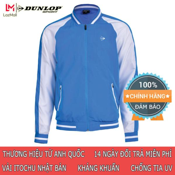 DUNLOP - Áo gió Bomber Nam Dunlop - DAGBOF8145-1-BE24 Thương hiệu từ Anh Quốc Đổi trả miễn phí (áo gió nam, áo thể thao nam, thu đông nam, áo khoác nam, quần áo thể thao, áo khoác, áo bomber)