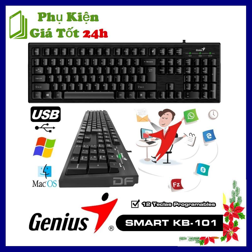 Bàn phím Có Dây Genius Smart KB-101 - Bảo Hành 12 Tháng
