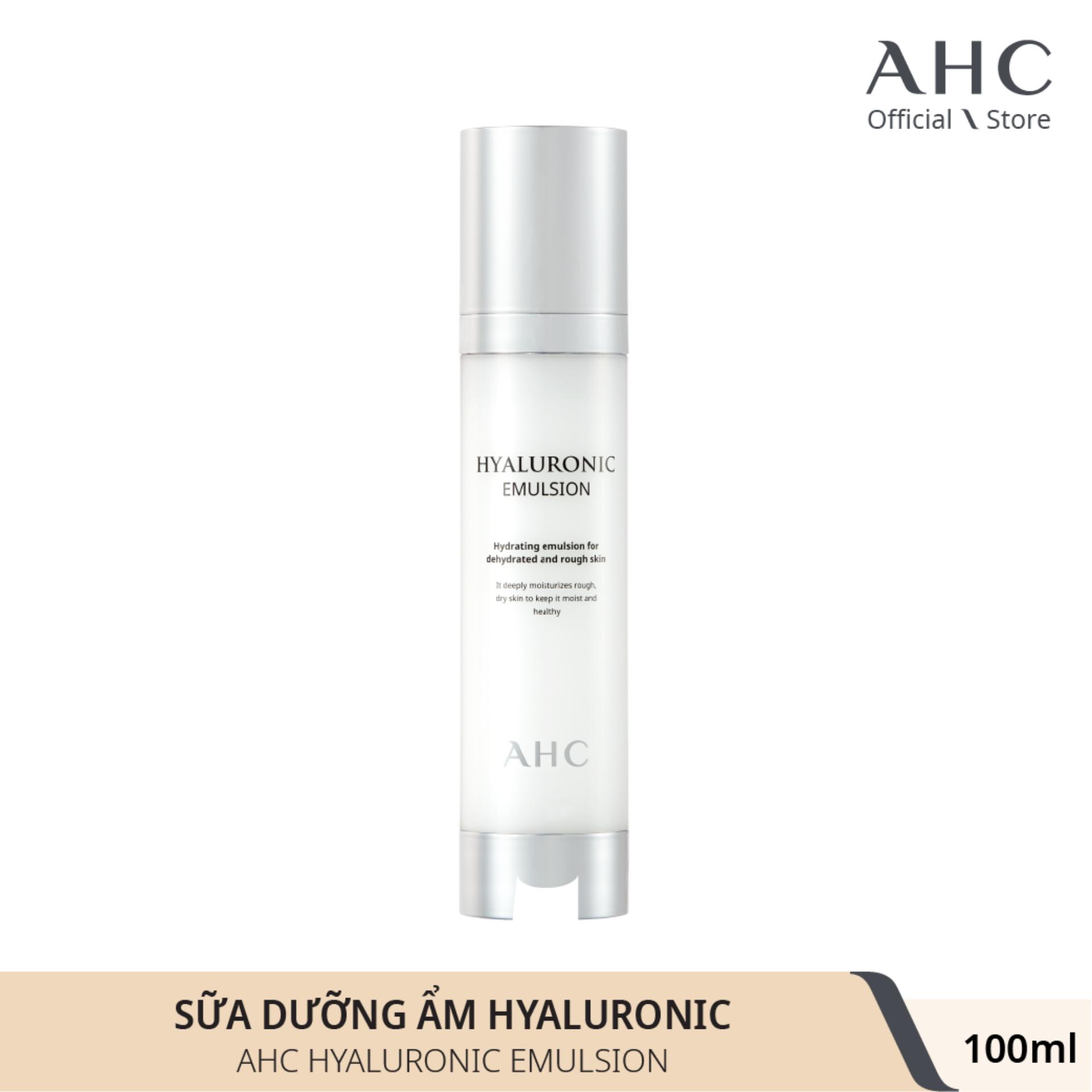Sữa Dưỡng Cấp Nước AHC Hyaluronic Emulsion 100ml