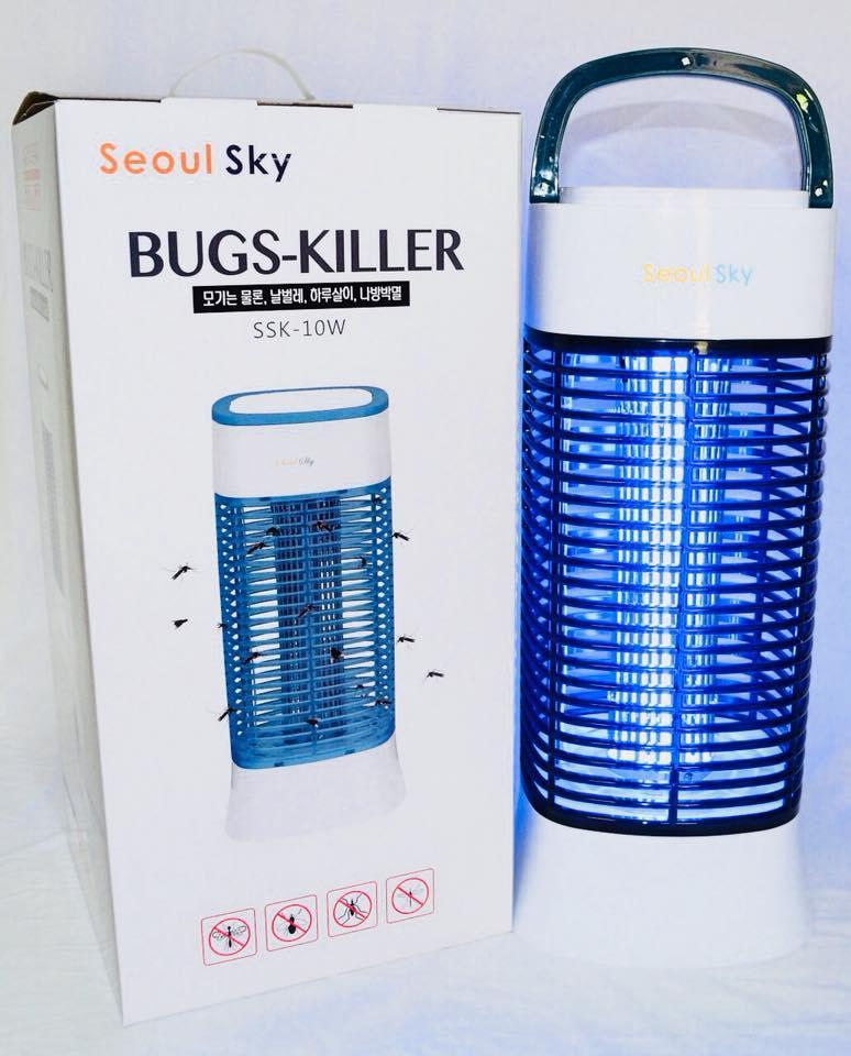 Đèn diệt côn trùng SEOUL SKY HÀN QUỐC an toàn hiệu quả thiết kế trang nhã