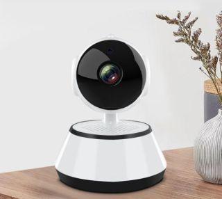 Camera wifi v380pro-Q6 độ phân giải 720p, xoay 355 độ, đàm thoại 2 chiều, cảm biến hồng ngoại, góc nhìn rộng. thumbnail