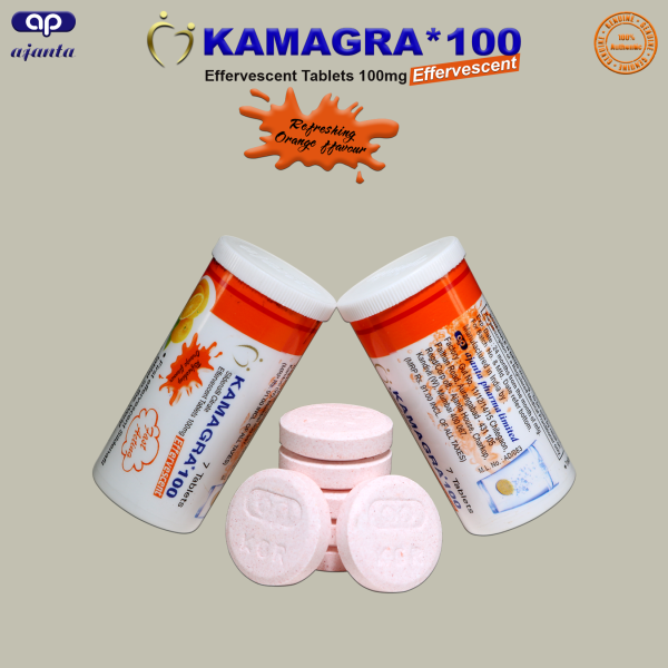 Viên Sủi Kamagra Effervescent nhập khẩu