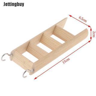 Sản Phẩm Phụ Kiện Chơi Game Jettingbuy, Bậc Thang Hamster Bằng Gỗ, Dành Cho Đồ Chơi Leo Trèo 2