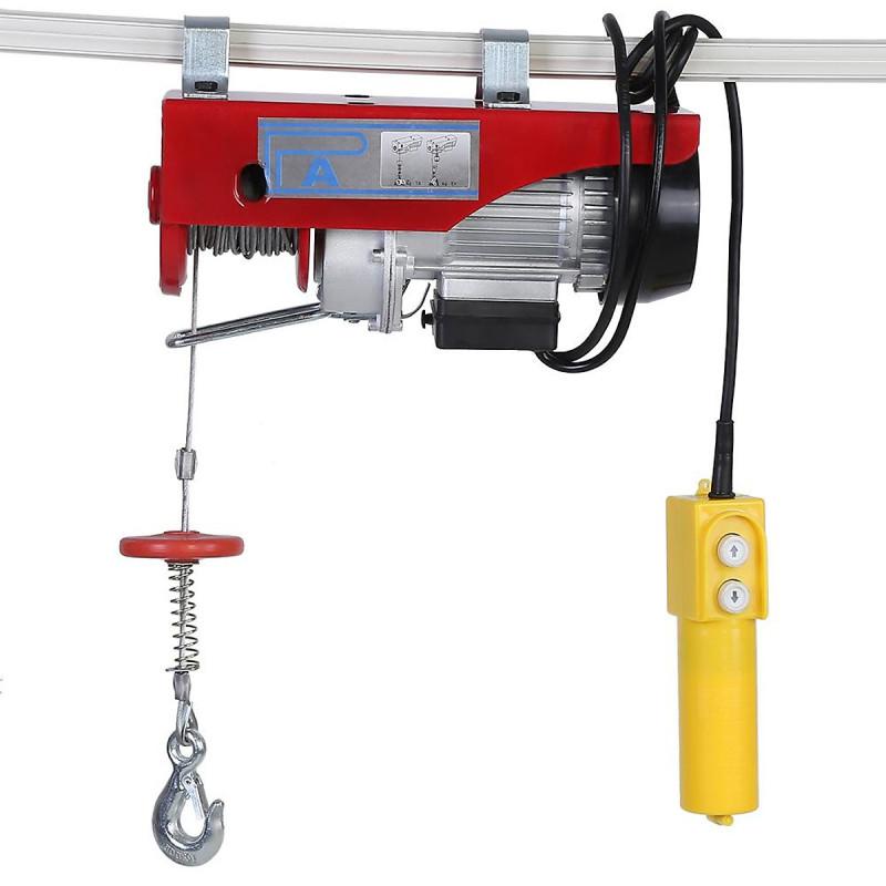 Tời Điện Treo Pa1200 (600/1200Kg) Màu Đỏ  Cáp 12m