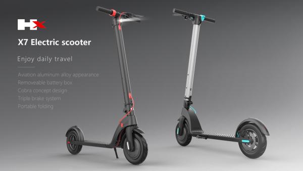 Mua X7 Scooter - xe trượt điện mini có thể gấp gọn giúp đi làm đi học tiện lợi