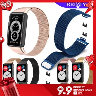 Milanese Loop Strap cho Huawei Band 6 Dây đeo bằng thép không gỉ Dây đeo đồng hồ thông minh cho huawei watch fit band 6 smart band thumbnail